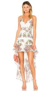 print dress aijek print dress in white revolve