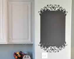 elegant chalkboard vinyl wall decal size large message pad elegant chalkboard vinyl wall decal size large message pad message board chalkboard