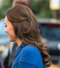 claw hair kate middleton a plastic claw hair clip and that s just