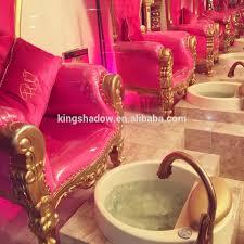 luxury woman painted nail salon chairs pedicure massage chairs art