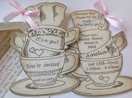 personalised alice in wonderland party in style vintage shabby