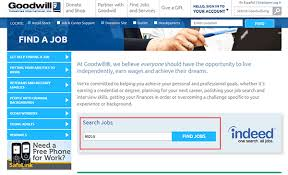 goodwill job application apply online