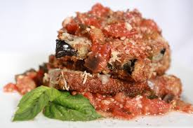 the bitten word eggplant parmesan for two