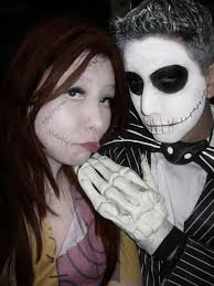 jack and sally halloween costumes and makeup lucy ortiz flickr