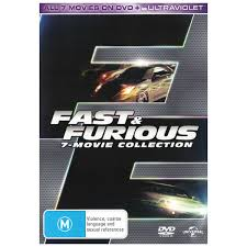 fast and furious 7 movie collection dvd uv dvd big w