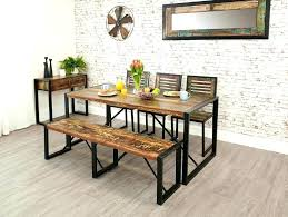 farmhouse table with bench and chairs farmhouse dining table set with bench set with bench dining view