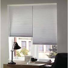 Waffle Window Blinds Room Darkening Cellular Shades Shades The Home Depot