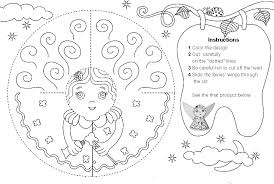 tooth fairy coloring pages getcoloringpages