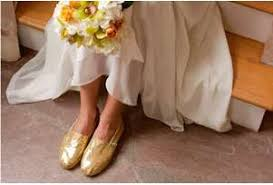 wedding shoes toms golden bridal flats tom s shoes wedding collection
