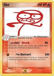 dick figures red as a pokemon card by fluffydragonpuppy on deviantart