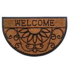 Come In And Go Away Doormat Semi Circle Door Mats You U0027ll Love Wayfair