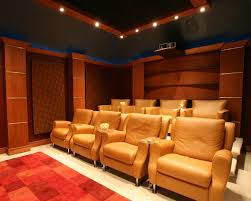 small home theater decorating ideas home theater traditional with