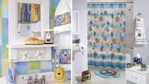 bathroom minimalist bathroom for kids with cartoon theme and white