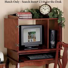 Computer Hutch Desk With Doors home office furniture touch of class