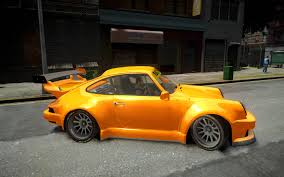 rwb porsche yellow gta gaming archive