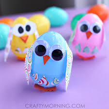 how to make easter eggs creative things to make out of plastic easter eggs crafty morning