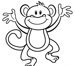 pictures coloring page monkey 54 in to print with coloring page