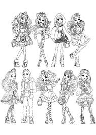 coloring pages girls fgt45