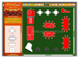 Simple Floor Plan Software A Casino Event Interactive Party Floor Planning Software
