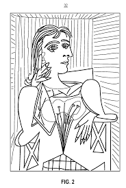 painting pablo picasso coloring pages 24716 bestofcoloring com