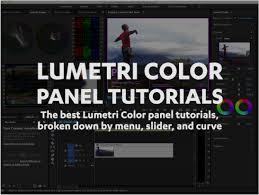 tutorial editing video di adobe premiere lumetri color panel tutorials premiere bro