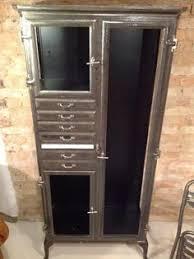 küche industriedesign industriedesign loft arzt schrank vitrine küche bad stahl metall