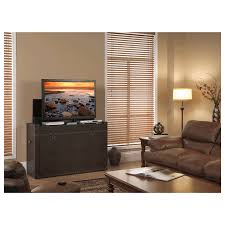 Touchstone Tv Lift Cabinet Ellis Trunk Style End Of Bed Or Anyroom Lift Cabinet For 24 50