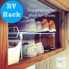 Rv Kitchen Sink Covers Rv Organizing And Storage Hacks Small Spaces Organizing Made
