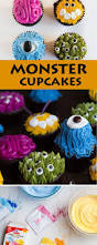 halloween monster cupcakes recipe halloween desserts monster