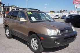 2004 hyundai santa fe price 2004 hyundai santa fe in las vegas nv national car and truck sales