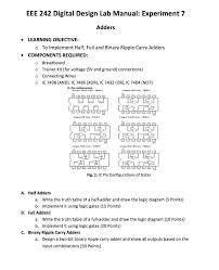 design expert 7 user manual solved eee 242 digital design lab manual experiment 7 ad