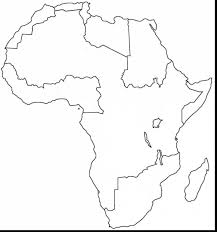 Madagascar Blank Map by Africa Coloring Pages Coloringsuite Com