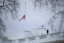 Flags At Half Mass Today Trump Orders Flags At Half Staff To Honor Florida Massacre Victims