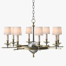 circa lighting circa lighting leaf and arrow chandelier 3d model max obj 3ds fbx mtl