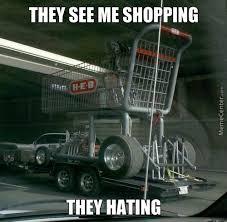 Shopping Cart Meme - a beggar took me shopping