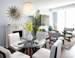 combined living and dining room dining room small apartment living condo room and dining