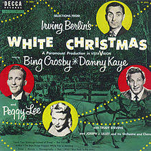 crosby christmas album selections from irving berlin s white christmas