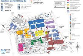 Map Scotland Western General Hospital Map Western General Hospital Edinburgh