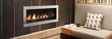 gas fireplace contemporary home decorating interior design