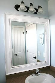 bathroom mirror frame ideas best 25 framed bathroom mirrors ideas on framing a