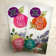 seed tiles u2013 backyard bug buddies nature care u2013 paperworks inc