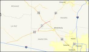Prescott Arizona Map by Arizona State Route 71 Wikipedia