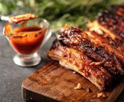 porc cuisine plat de côtes de porc grillé recette de plat de côtes de porc