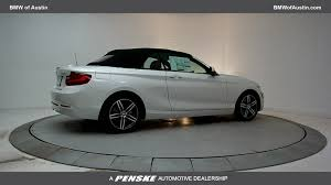bmw series 5 convertible 2017 used bmw 2 series 230i xdrive at bmw of serving