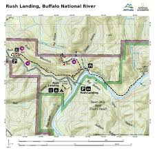 Buffalo Map Buffalo River Attractions To Low River Area