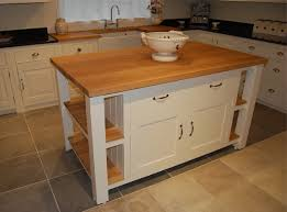 stand alone kitchen island free standing kitchen island idea with wood countertops 8980