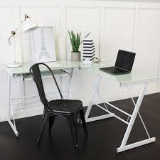 desks no tools desk walker edison desk amazon z line glass desk