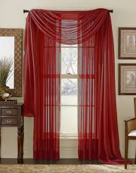 Scarf Curtains Sheer Voile Curtain Scarf Moshells