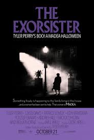 boo a madea halloween u0027 poster pays homage to u0027the exorcist