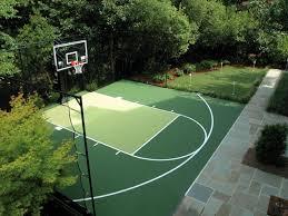 Best Backyard Basketball Court Ideas On Pinterest Backyard - Home basketball court design